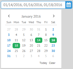 DatePicker, UI Controls Webix Docs